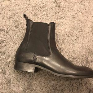 Black Frye ankle booties